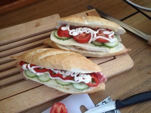 Exempel på våra lunchmackor jag brukar göra varje dag