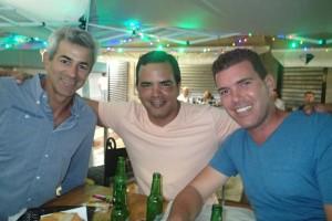 Våra Kubanska vänner Ernesto, Ricardo och Raoul