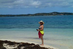 Lotta på strandhugg på Green Island