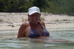 Gottegris i strandbrynet