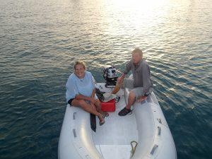 Våra räddare i nöden, Kristin och Dan