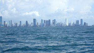 inseglingen till Cartagena