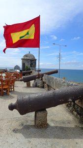 Hela Cartagena är full av fort